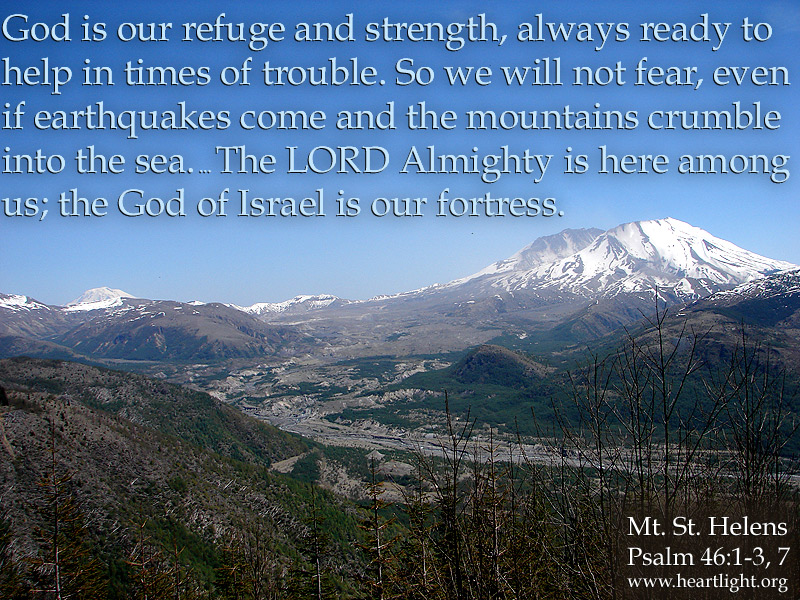 Fall Christian Wallpaper Psalm 46 1 7 When Mountains Give Way Heartlight 174 Gallery