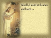 """""""At The Door""""  PowerPoint Background of Revelation 3:20 ..."""