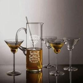 Babaya Özel Cam Martini Seti