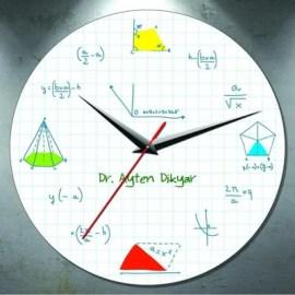 Matematik Öğretmenine Özel Hediye Duvar Saati