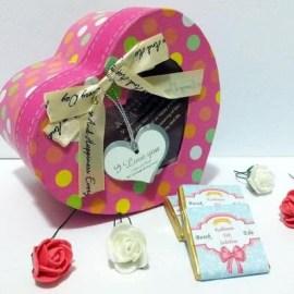 Kız Arkadaşınız İçin Romantik Mesajlı Çikolata