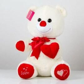 Sevgilinize Yılbaşında Kalp Tutan Sevimli Ayıcık
