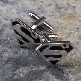 Sevgiliye Özel Gün Hediyesi Süperman Kol Düğmesi