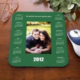 Sevdiklerinize Özel Yeni Yıl Takvimli Mouse Pad