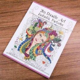 Yay Burcu Kadınına Özel Boyama Kitabı
