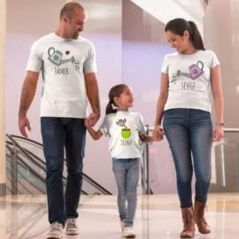 Babalar Gününe Özel Hediye Baskılı T-shirt