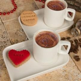 Sevgiliye Doğum Günü Hediyesi Kahve Porselen Kahve Seti