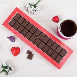 Sevdiklerinize Hediye Mesajlı Harf Çikolata