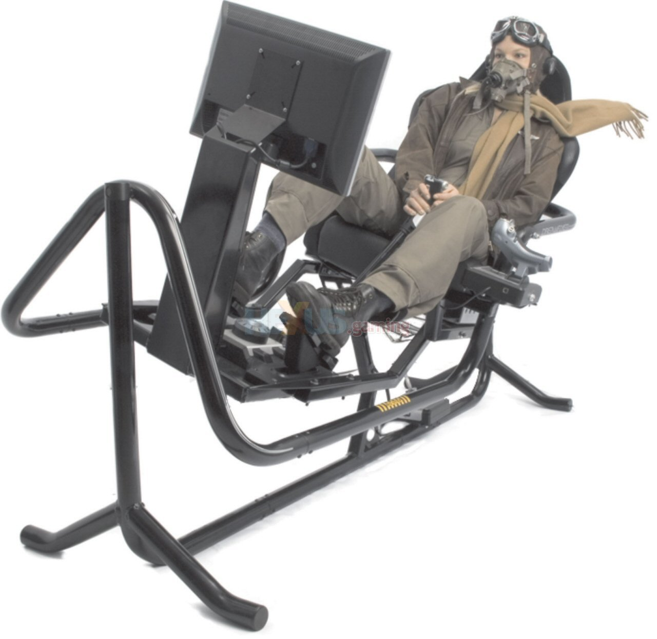 Flight Simulator Chair Motion Sickness In Your Living Room With Dreamflyer Pc