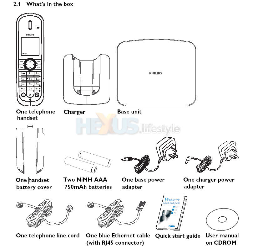 PHILIPS VOIP841 MANUAL PDF
