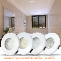 New IP65 Shower Bathroom GU10 MR16 LED Downlights Ceiling