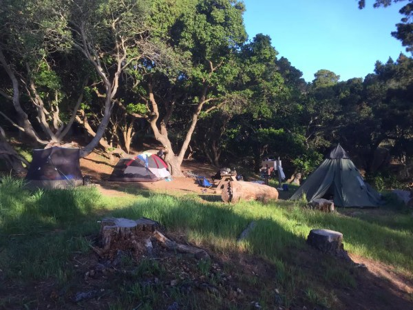 Angel Island State Park camping
