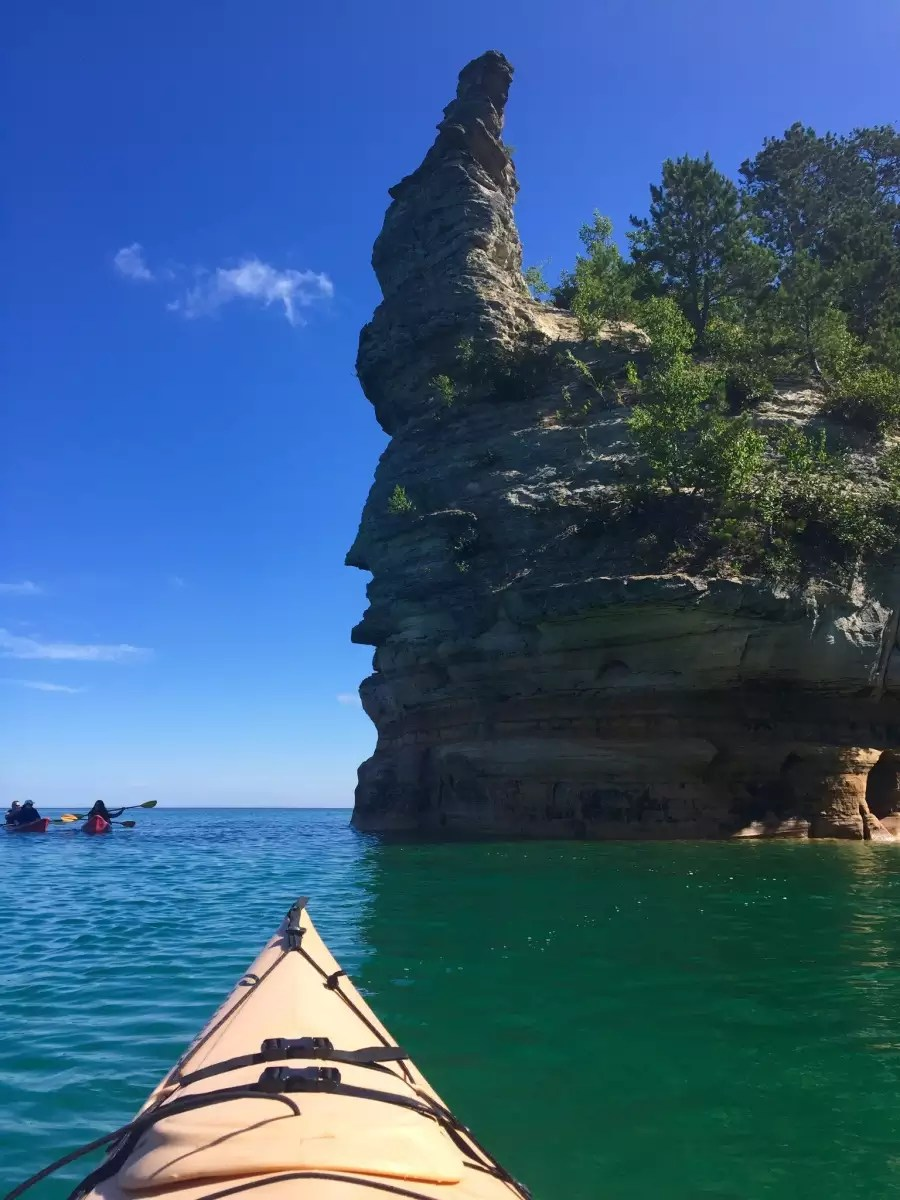 Little Beaver Lake Campground Pictured Rocks MI 2 Hipcamper reviews and 8 photos