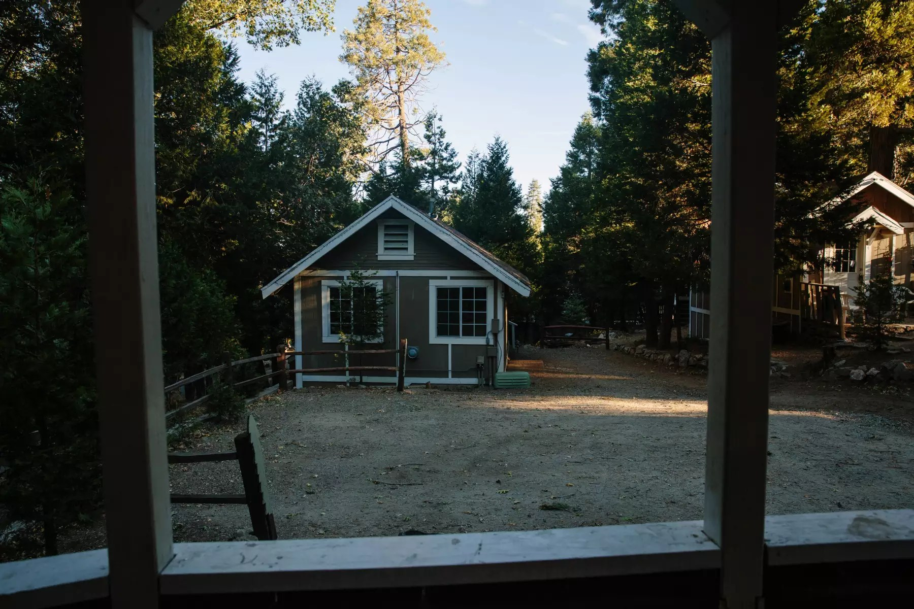 Cute Cabin In The Woods Antlers Inn Forest Cabins CA 3