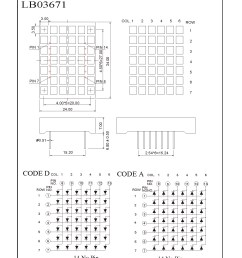 related category 8 x 8 dot matrix led display 5 x 7 dot matrix led display 8 x 8 square dot matrix led displays 16 x 16 dot matrix led displays [ 1381 x 1883 Pixel ]