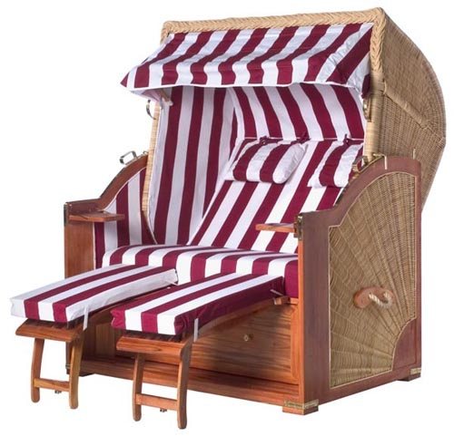 beach basket beach cabana wicker roofed beach chair