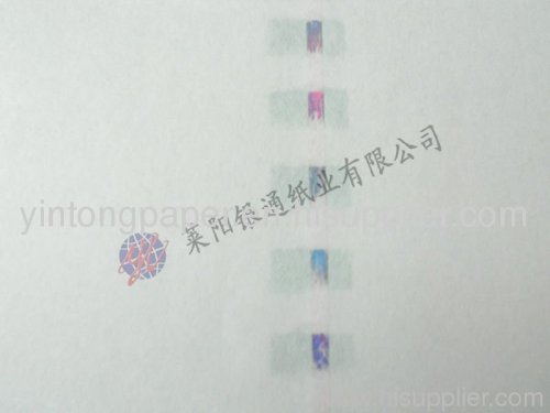 Watermark paper 787*1092mm, 889*1194mm flat or roll or customized manufacturer from China LAIYANG YINTONG PAPERMAKING CO., LTD.