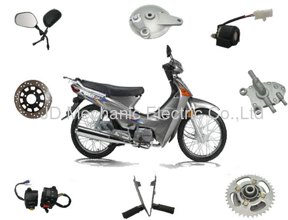 honda wave125 moped cub parts products from China