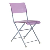 crystal purple Plastic Folding armless Chair manufacturers ...