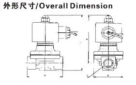 H2W(uw)serier 5 way solenoind valve(Large Aperture