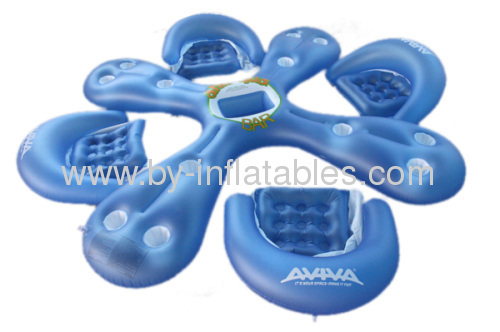 inflatable water chairs for adults slip cover chair and ottoman pvc 4 persons from china manufacturer