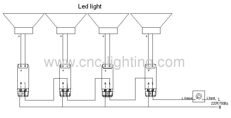 20W IP65 Ceiling LED Canopy Light(IP65) from China
