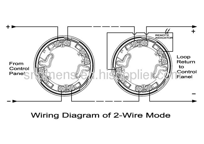 smoke alarm wire diagram