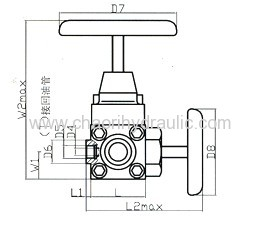 high quality stopping valve for accumulator manufacturers