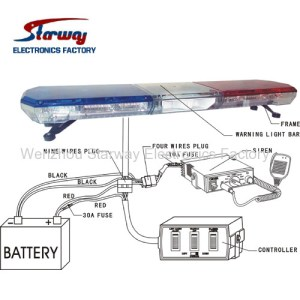 Starway Police Warning LED Lightbar manufacturers and