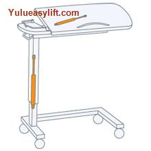 Hospital Over Bed Tables Gas Spring from China