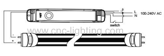 0.6M 1.2M 1.5M 1.8M Linear Tubular Emergency LED T8 Tube