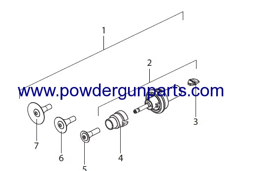 Electrode Holder X1 R with Nozzles 2322493 products