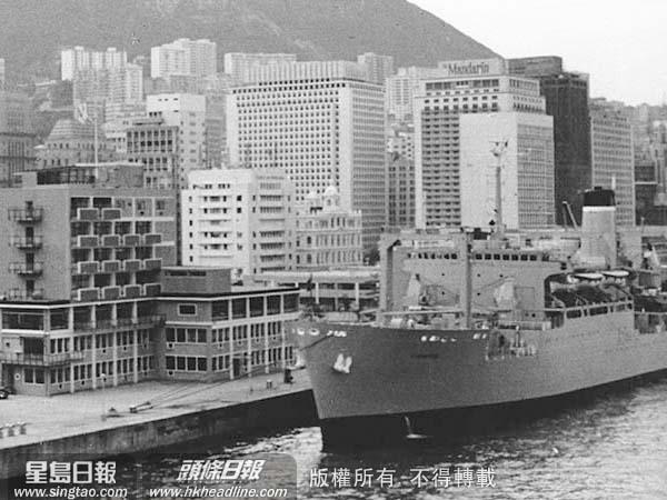 頭條日報 頭條網 - 圖說往昔 添馬艦--昔日海軍基地 今日政府總部
