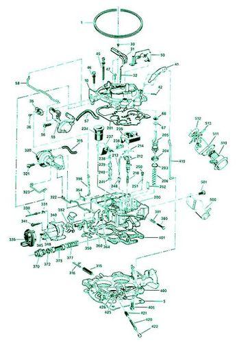 Rochester 1 Barrel Carburetor Diagram : rochester, barrel, carburetor, diagram, Rochester, Quadrajet, Carburetors, Hemmings