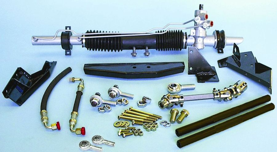 rack and pinion steering conversions
