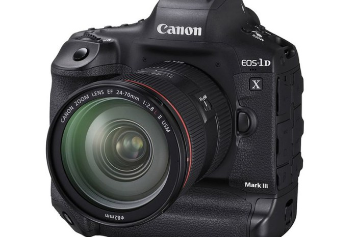 [3C NEWS] Canon 1DX Mark III 規格正式發表! 20MP、最高 20 FPS、Digic X 晶片、ISO 80 萬、4K 60P 無裁切