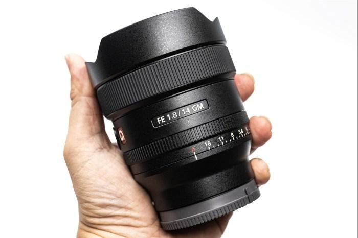 [玩攝影97] Sony FE 14mm F1.8 GM 開箱 介紹,14mm/F1.8,僅 457g 輕巧的星空