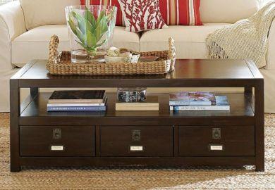 Rectangular Living Room Home Design Ideas Pictures