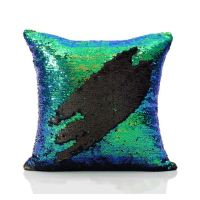 Mermaid Pillow Cover Mermaid Tail Change Color Sequins ...