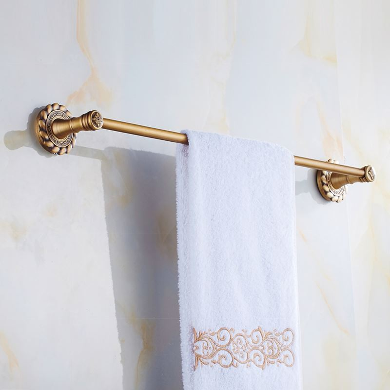 European Vintage Bathroom Accessories Towel Rack Antique