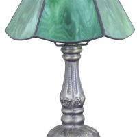 6inch European Pastoral Retro Style Table Lamp Green Lamp ...
