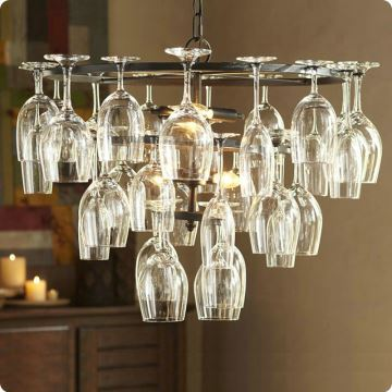 Uk Stock Ceiling Lights Wine Glass Chandelier Pendant Lighting With 6 In Feature Not Included Sips Of