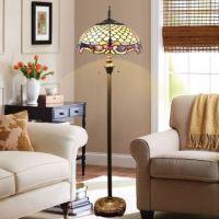Tiffany Floor Lamp Handmade Glass Shade Standard Lamp ...