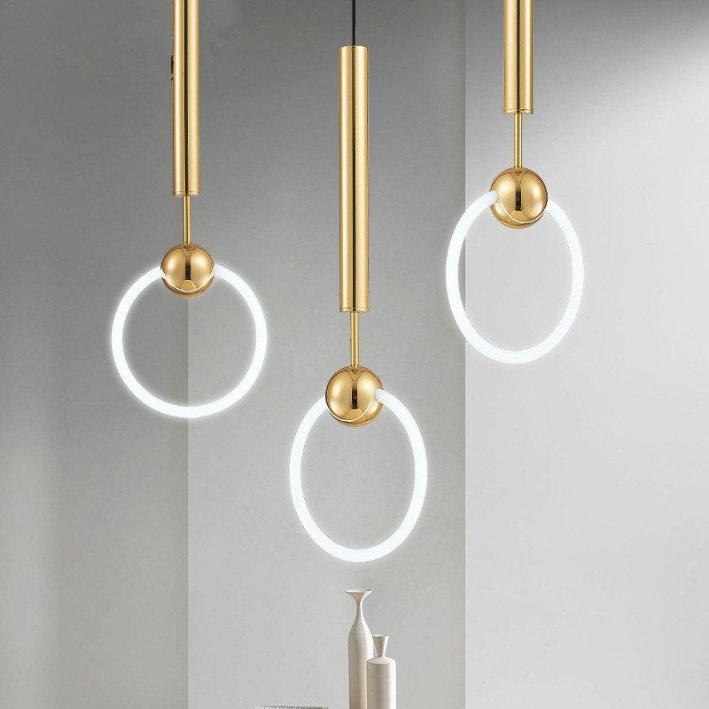 Nordic Creative Lighting Single Glass Knocker Pendant