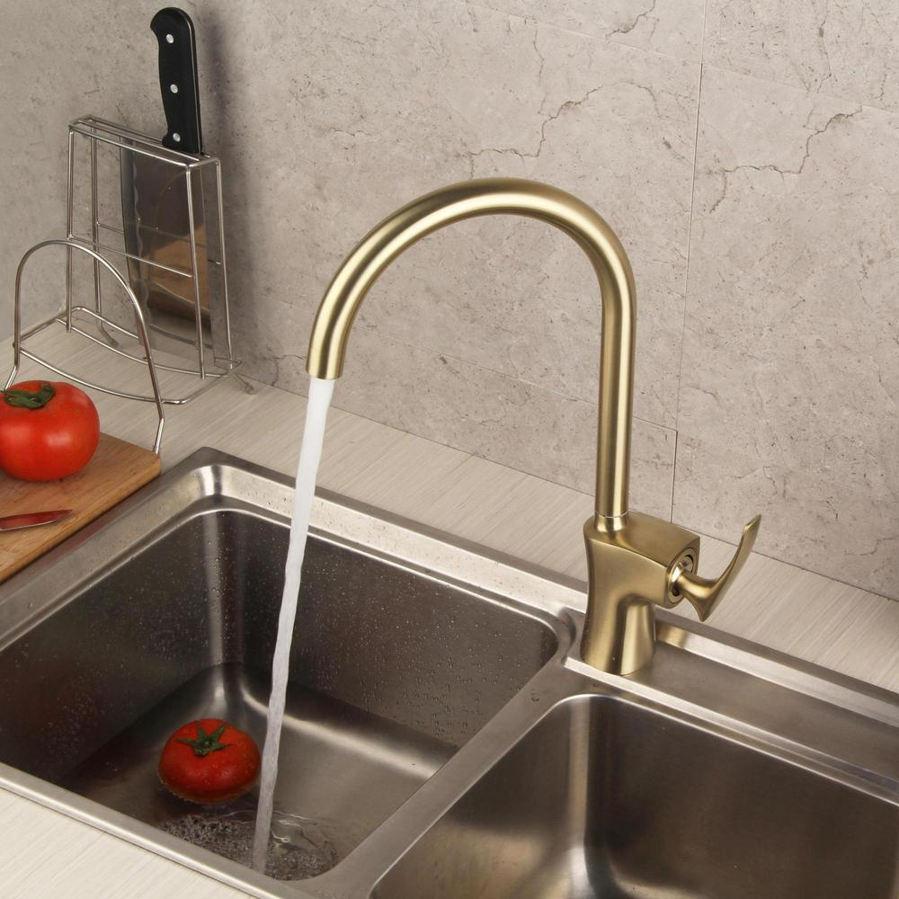 rotatable kitchen sink faucet simple