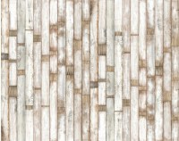 Wallpaper - Contemporary Wood Panel Non-Woven Paper Wall Paper