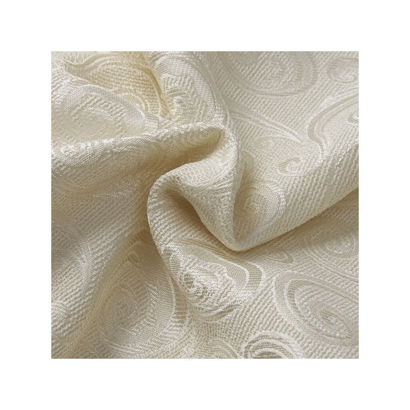 Out Of Stock One Panel Mediterranean Jacquard Beige Geometirc Pattern Polyester Room