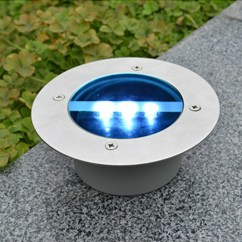 Glass Kitchen Table Sets High Chairs Solar Power Led Light Round Recessed Deck Dock Pathway ...
