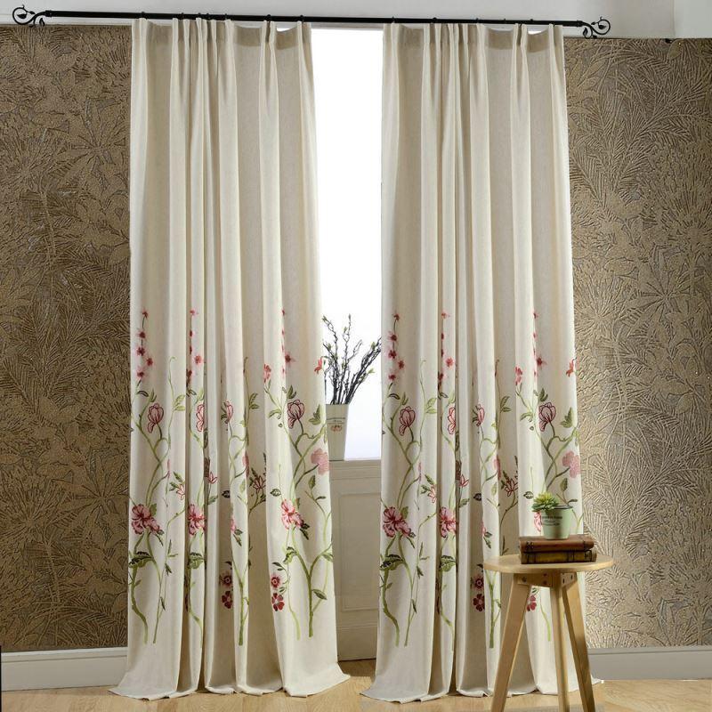 Vorhang Mit Blumen Stunning Ikea Gardine Vorhang Blumen Wei Transparent With Vorhang Mit Blumen