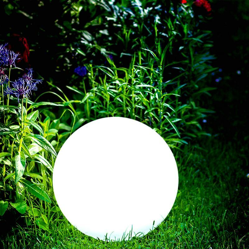 Auen Solar Kugelleuchte fr Garten